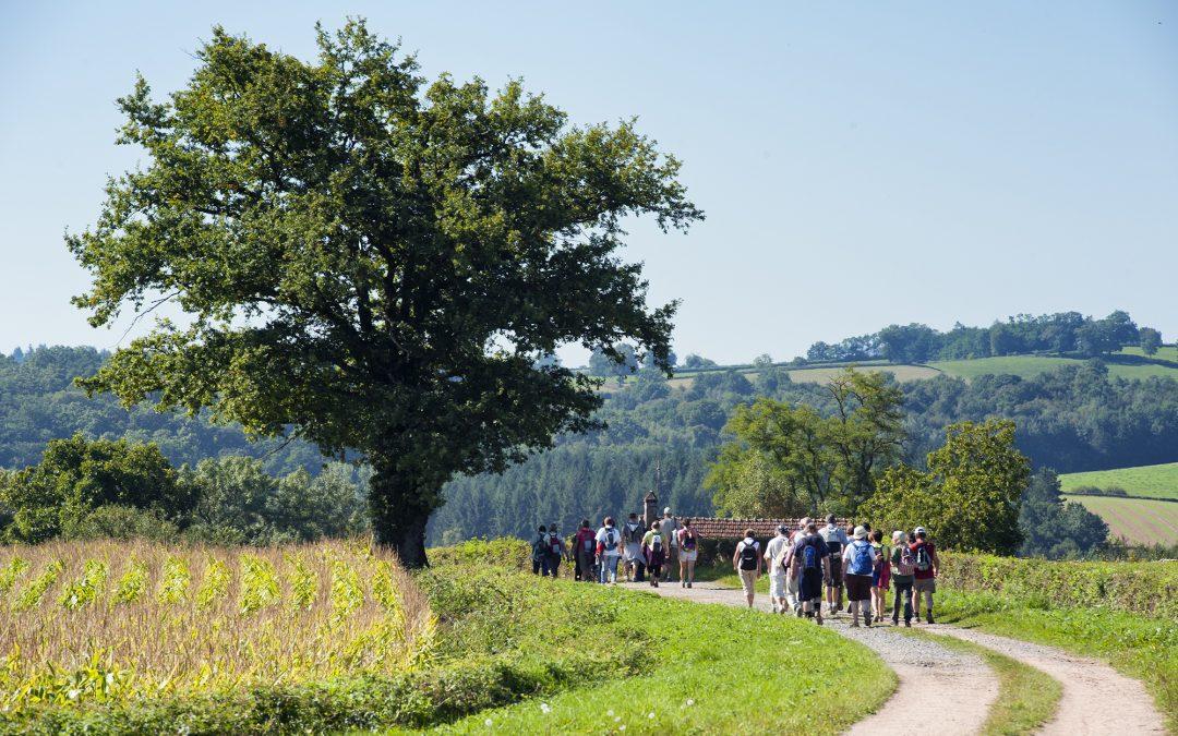 Randonnée des Guides en Morvan à Moulins-Engilbert