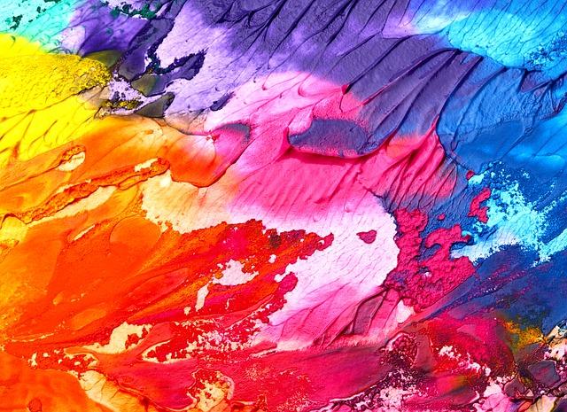 Stage enfants des Ateliers du Comptoir à Chiddes : la couleur