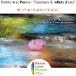 Exposition «Peinture & Poésie» à Moulins-Engilbert