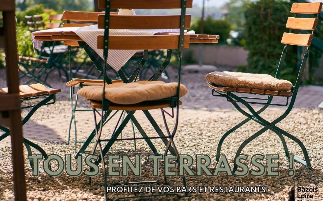 Tous en terrasse en Bazois Loire Morvan